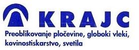 KRAJC - GLOBOKI VLEK, INOX ROZETE IN KROGLE